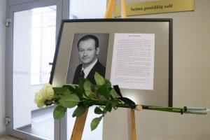 Seimo narys R. Žilinskas palydėtas į paskutinę kelionę
