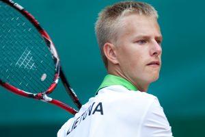 L. Mugevičiaus ir italo duetas nepateko į Ukrainos teniso turnyro pusfinalį