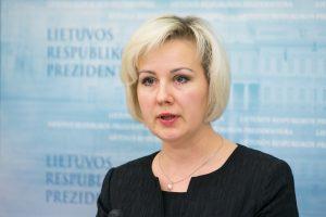 Premjeras: apie prezidentės spaudimą liudijusi D. Korsakaitė stoja ne Lietuvos pusėn
