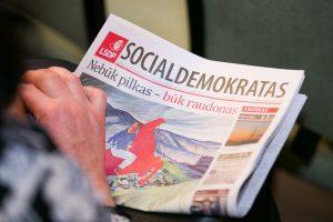 Politologas: socialdemokratai mato, jog nėra kitos išeities