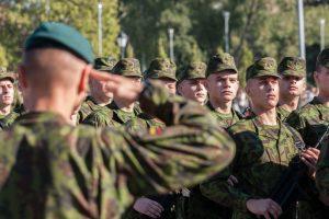 Dragūnų batalione – rekordinis skaičius šauktinių