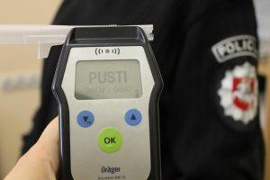 Vakarų Lietuvoje girti vairuotojai policijos nesibaimina