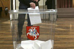 Į priekį juda rinkimai: sąskaitose – jau tūkstančiai eurų