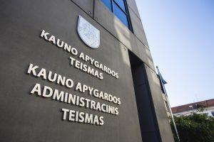 Baigiasi Vilniaus ir Kauno apygardų administracinių teismų vadovų kadencijos
