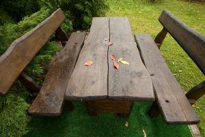 Ką daryti su lauko baldais?
