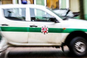 Kaune vyras šaudė į buto duris ir langą