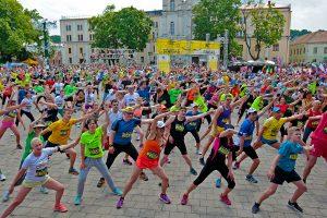 Įsimintinas savaitgalis – bėgikų būryje