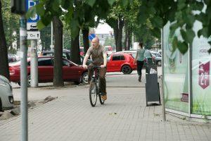 Savanorių prospekte bus dviračių takas už 1,7 mln. eurų
