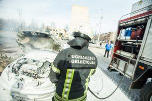 Ugnis ir automobilis – itin pavojingas derinys