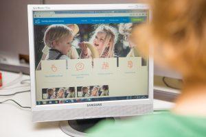 Į vaikų darželius registruoja internetu