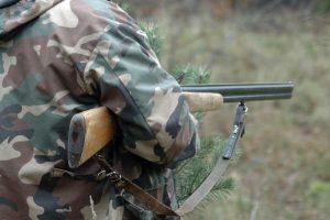 Vilniaus rajone nelegaliai laikomu ginklu vyras sužalojo kaimyno šunį