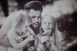 Fotografijų paroda, gimusi iš meilės tėvams