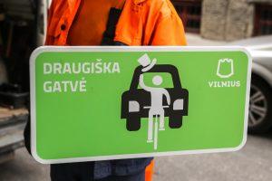 Islandijos gatvėje – dar daugiau erdvės pėstiesiems ir dviračiams