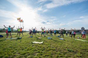 Nemokamose treniruotėse sportuoja tūkstančiai kauniečių