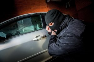 Palangoje pavogtas prabangus automobilis