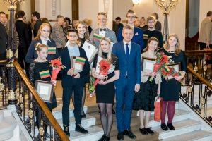 Vilniuje talentingiausiems moksleiviams išdalyti Mažieji Kristoforai