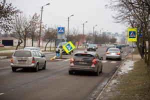 Saugumo salelė – spąstai vairuotojams