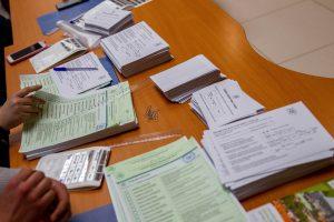 Šeštadienį neįgalieji ir senjorai dar galės balsuoti namuose