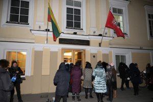 ŠMM atstovai prašo mokytojų palikti ministerijos patalpas