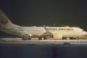 Dėl dūmų lėktuve keleivius teko evakuoti siaučiant pūgai