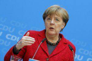 A. Merkel: Vokietija kartu su Britanija stoja prieš terorizmą