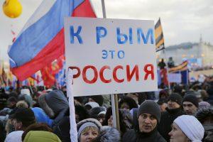 Kremlius: Kijevo planai susigrąžinti Krymą – nederami