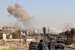 V. Putinas ir B. Obama susitarė stiprinti paliaubas Sirijoje