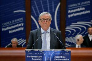 Euroskeptiški britų laikraščiai džiaugiasi EK vadovo pareiškimu dėl ES