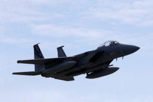 NATO naikintuvai šiemet pirmą kartą lydėjo Rusijos orlaivį