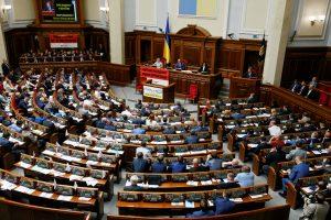 """Ukrainoje """"Opozicijos blokas"""" grasina siekti Rados perrinkimo"""
