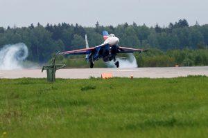 Prie Maskvos sudužus naikintuvui žuvo pilotas
