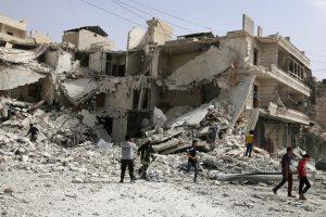 Alepas toliau liepsnoja nepaisant pastangų išgelbėti paliaubas