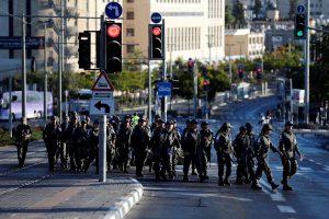 Izraelis šventės dienomis uždraudė įvažiavimą iš palestiniečių teritorijų