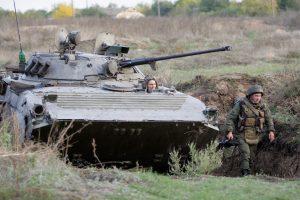 ESBO perspėja dėl naujo smurto protrūkio rytinėje Ukrainoje