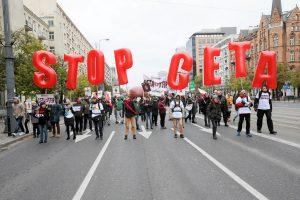 Bulgarija ir Rumunija už pritarimą ES ir Kanados sutarčiai iškėlė savo sąlygas