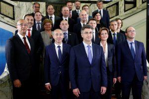 Kroatijoje – nauja konservatyvi vyriausybė