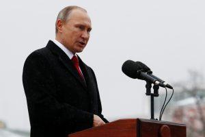 V. Putinas sieks dar vienos prezidento kadencijos