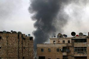 Rusija ir Kinija blokavo JT rezoliuciją dėl paliaubų Alepe