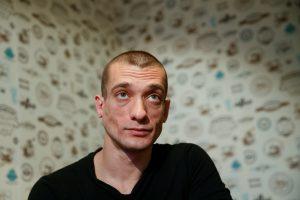 Skandalingajam rusų menininkui – politinis prieglobstis Prancūzijoje