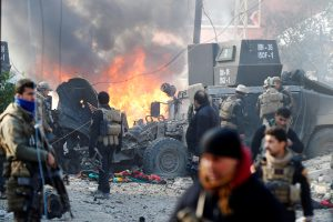Mosule per dvigubą sprogdinimą žuvo 15 žmonių