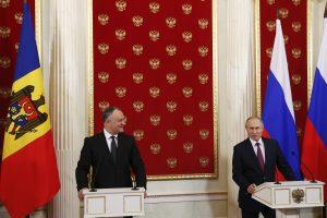 Moldova reikalauja išvesti Rusijos karius iš Padniestrės