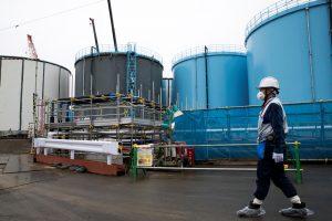 Japonijoje prie Fukušimos elektrinės įvyko žemės drebėjimas
