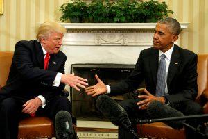 D. Trumpas kaltina B. Obamą šnipinėjus jo telefoną