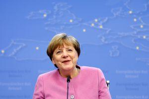 R. T. Erdoganas apkaltino A. Merkel remiant terorizmą
