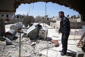 Patvirtinta: per brutalią ataką Sirijoje buvo panaudotas zarinas