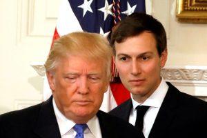 D. Trumpo žentas siūlė Maskvai įkurti slaptą ryšio liniją su Baltaisiais rūmais?