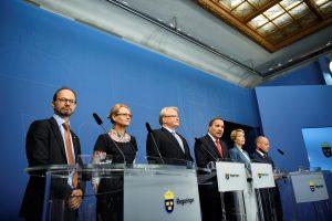 Dėl duomenų skandalo – griūtis Švedijos vyriausybėje