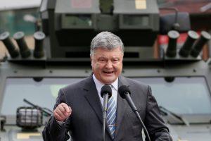 P. Porošenka žada grąžinti Donecką Ukrainai