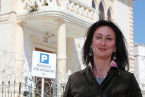 Maltoje tiriant žurnalistės nužudymą sulaikyti aštuoni asmenys