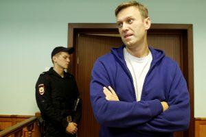 Po vizito pas odontologą A. Navalno laukė nemaloni staigmena